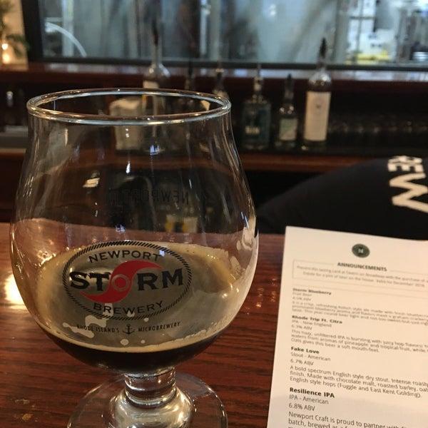 Das Foto wurde bei Newport Storm Brewery von Martin M. am 12/28/2018 aufgenommen