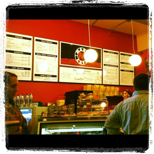 Снимок сделан в Mars Cafe пользователем Heather K. 12/4/2012