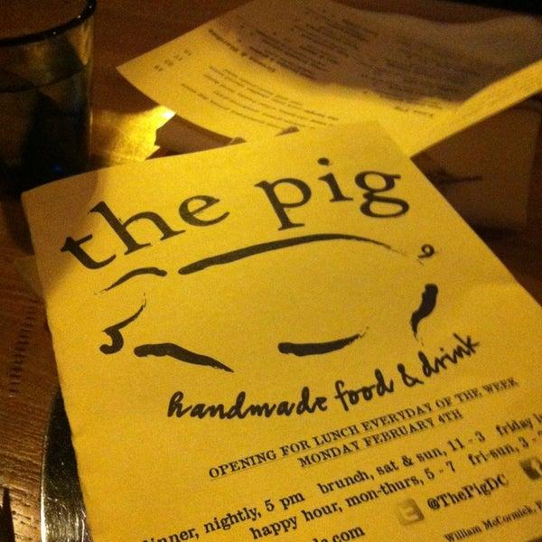 Foto tirada no(a) The Pig por Adrian F. em 1/19/2013