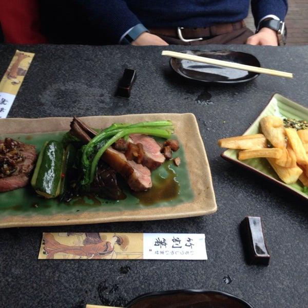 Das Foto wurde bei Mochi Restaurant von Eunice K. am 10/16/2014 aufgenommen