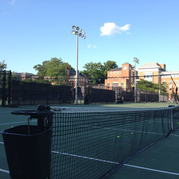 Gwu Mount Vernon Campus Map.Gw Tennis Center At The Mount Vernon Campus Foxhall Palisades
