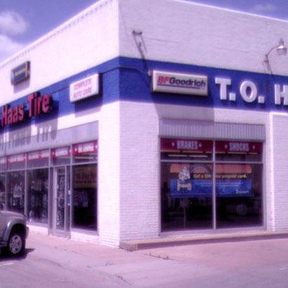 Car Dealerships In Hutchinson Ks >> Photos At T O Haas Tire Auto Hutchinson Ks