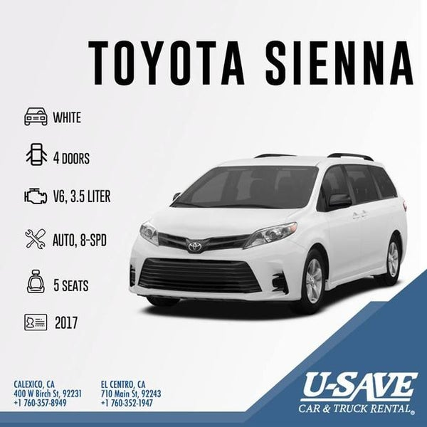 Toyota El Centro >> Photos At U Save Car Truck Rental Rental Car Location In