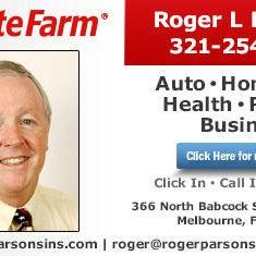 Roger L Parsons State Farm Insurance Agency Melbourne Fl