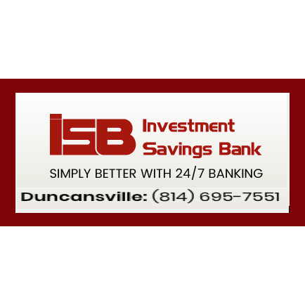 Investment savings bank hollidaysburg pa cymi investments sub inches
