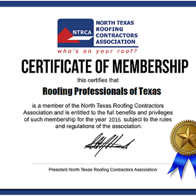 Roofing Professionals of Texas - Construction & Landscaping