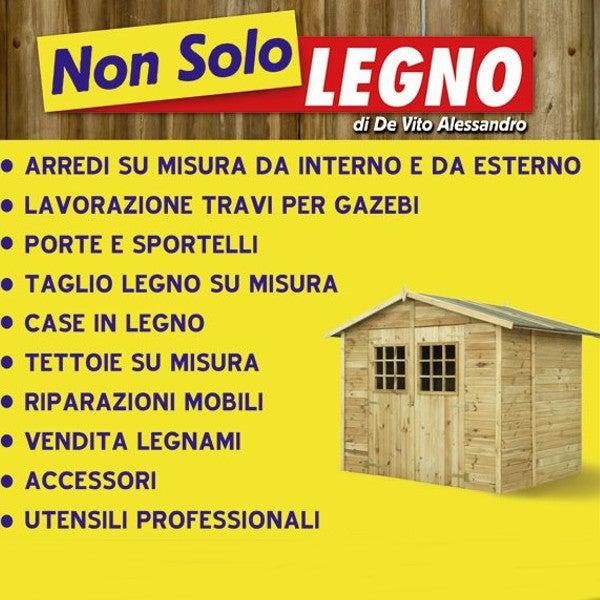 Sportelli Legno Su Misura.Non Solo Legno Construction Landscaping In Enna