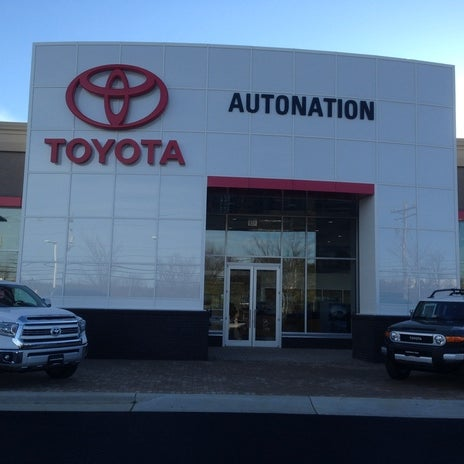 Photo Taken At Autonation Toyota Leesburg By Yext Y On 10 12 2017