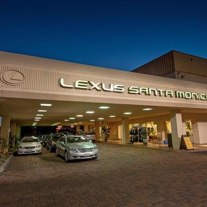 Photo Taken At Lexus Santa Monica Service By Yext Y On 9 10