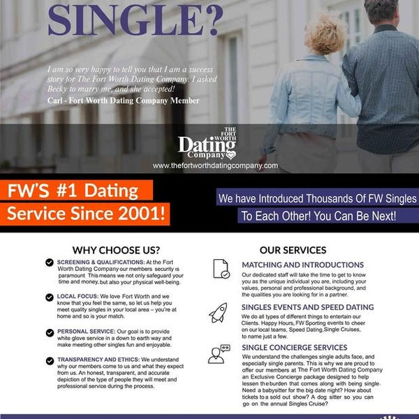 fort worth dating services