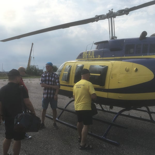 Photo Taken At Hernesaari Heliport EFHE By Lasse J On 8 10