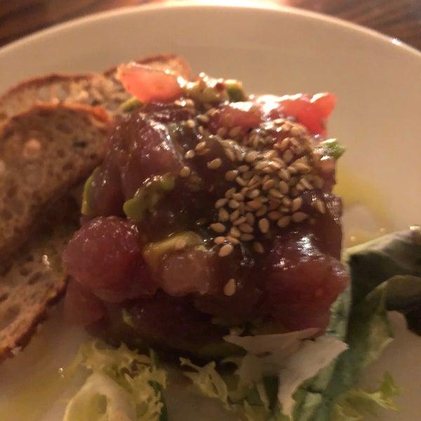 Тартар тунец ( хороший насыщенный вкус без лишнего добавления!