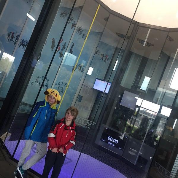 Das Foto wurde bei Airspace Indoor Skydiving von Elodie M. am 3/10/2019 aufgenommen