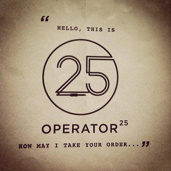 Foto diambil di Operator25 oleh James C. pada 7/27/2013