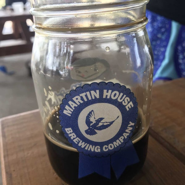 Photo taken at Martin House Brewing Company by Tom H. on 9/11/2021
