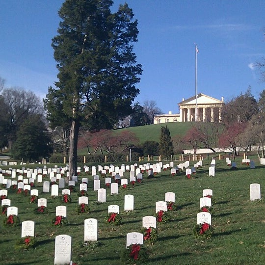 Photo prise au Arlington National Cemetery par Marcelo V. le12/24/2012