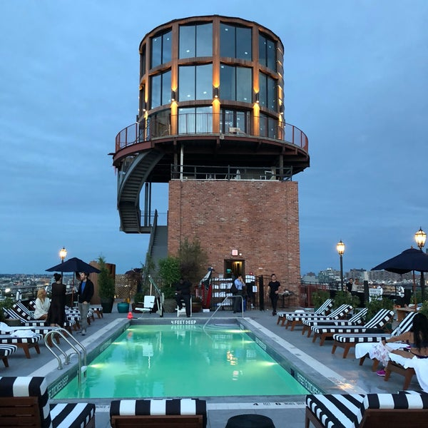 Williamsburg hotel water tower