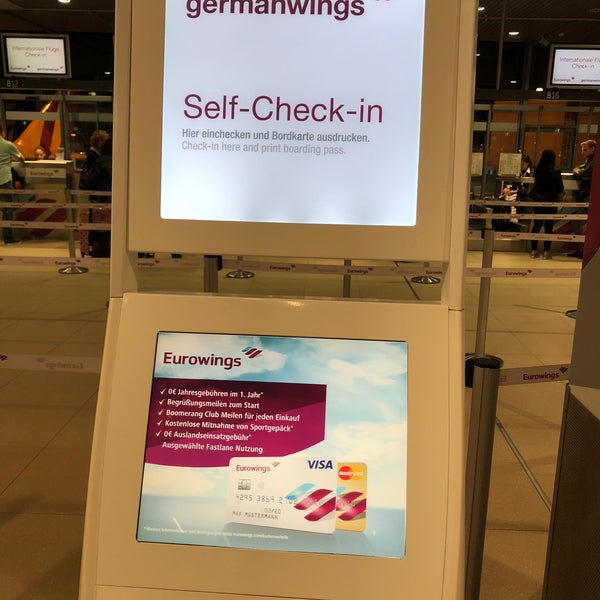 Photos At Eurowings Check In Airport Service In Porz