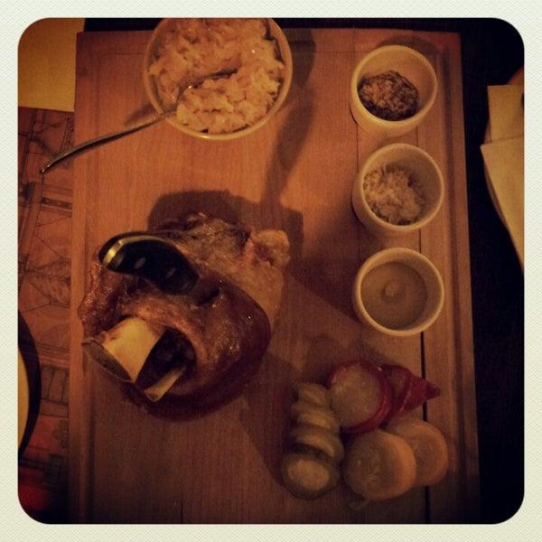 Снимок сделан в Pivovar U Tří růží пользователем olga p. 12/13/2012