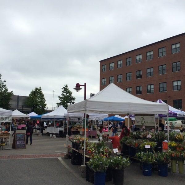 Foto tirada no(a) South End Open Market @ Ink Block por Zipporah S. em 5/25/2014