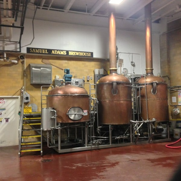Photo prise au Samuel Adams Brewery par Matt B. le1/17/2013