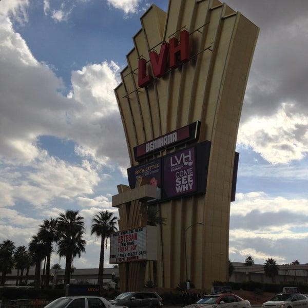 Снимок сделан в LVH - Las Vegas Hotel & Casino пользователем Jerome T. 1/10/2013