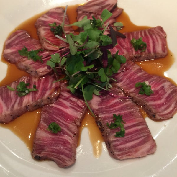 Wagyu Tataki for lunch