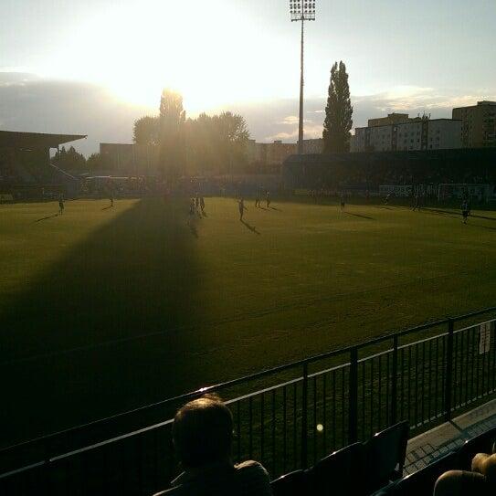 Foto tirada no(a) Štadión FK Senica por Jozef B. em 7/12/2014