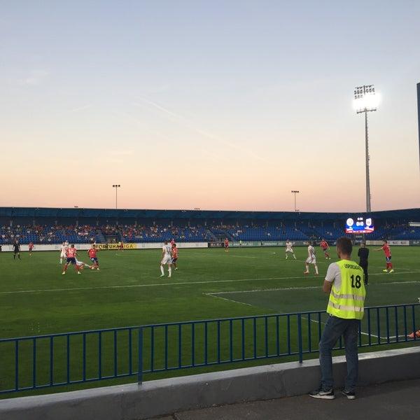 Photo prise au Štadión FK Senica par Jozef B. le9/10/2016