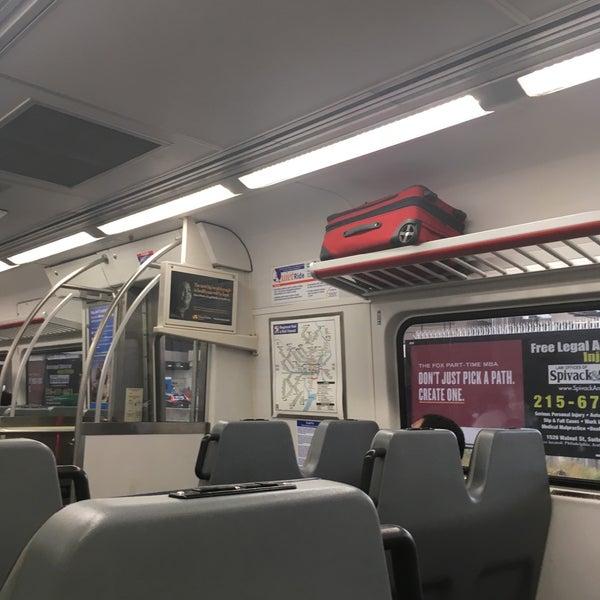 Photos At Septa Regional Rail Airport Line Train In Eastwick