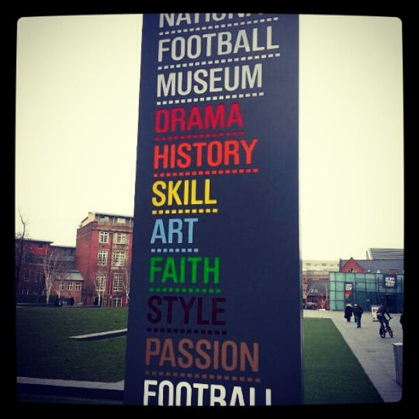 1/10/2013 tarihinde Simon O.ziyaretçi tarafından National Football Museum'de çekilen fotoğraf