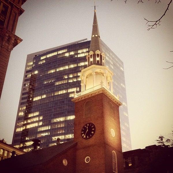 5/9/2012 tarihinde Sam S.ziyaretçi tarafından Old South Meeting House'de çekilen fotoğraf