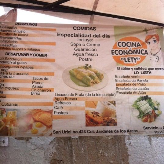 Cocina Economica Lety Chapalita Guadalajara Jalisco