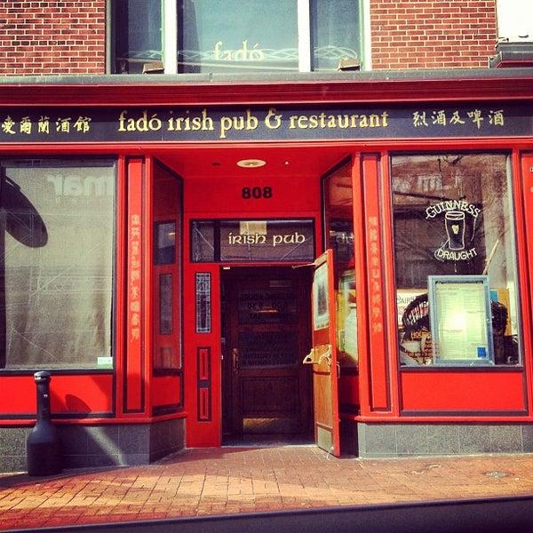Fado Irish Pub - Irish Pub in Washington