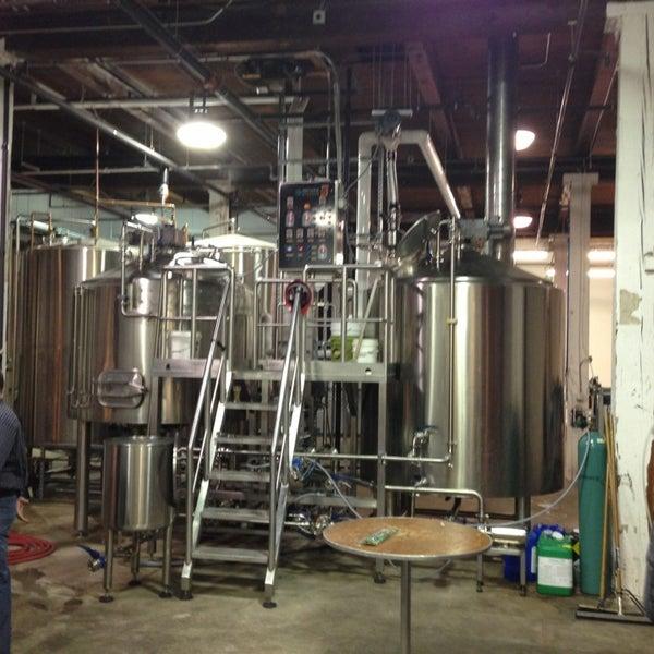 Photo taken at Union Craft Brewing by Elliott P. on 12/20/2012