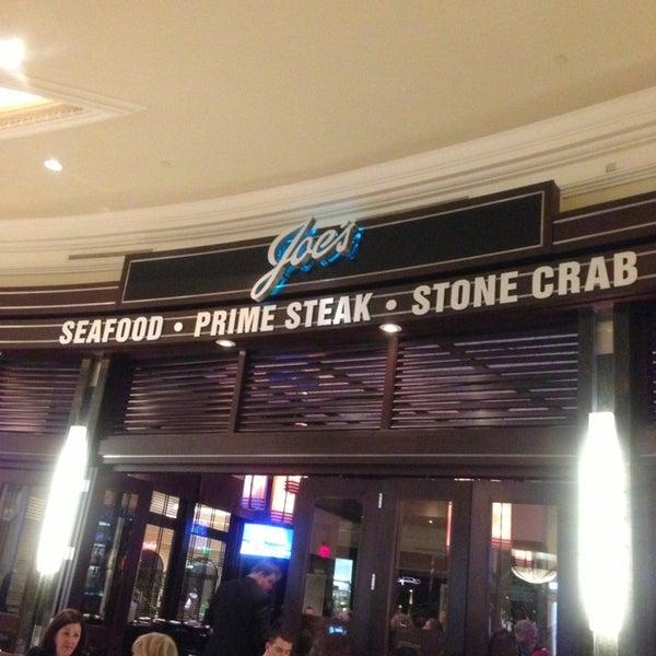 4/9/2013にAbdulrahman A.がJoe's Seafood, Prime Steak & Stone Crabで撮った写真