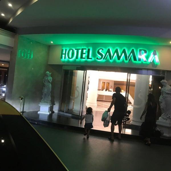 Das Foto wurde bei Samara Hotel von Cem D. am 9/10/2018 aufgenommen
