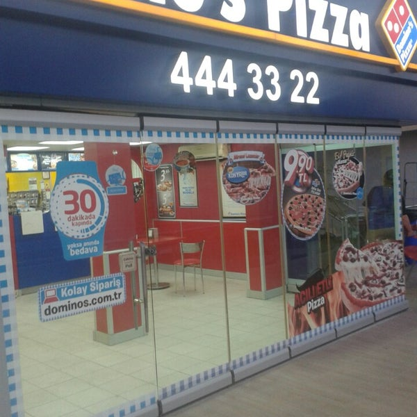 Dominos Pizza Ankarada Pizzacıda Fotoğraflar
