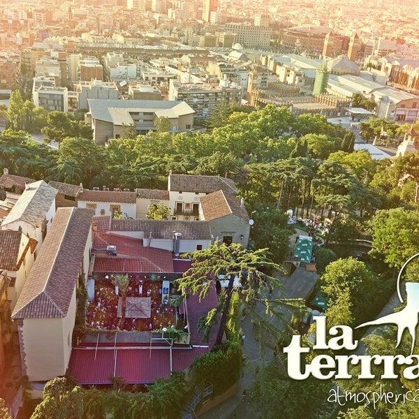 La Terrrazza Nightclub In Parc De Montjuïc