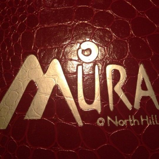 Das Foto wurde bei Mura Japanese Restaurant von Brent H. am 9/29/2012 aufgenommen
