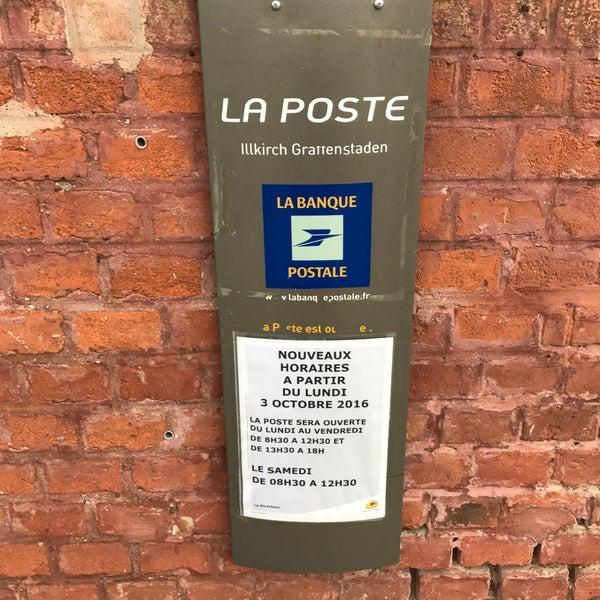 La Poste Illkirch Graffenstaden Alsace