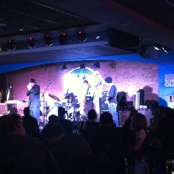 Foto tirada no(a) Buddy Guy's Legends por Flor L. em 3/29/2013
