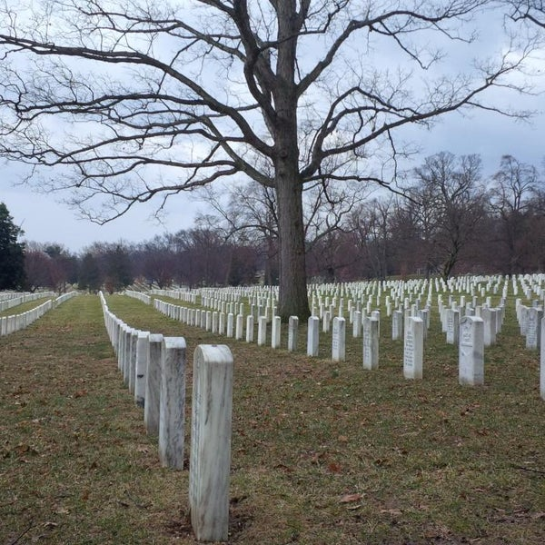 Photo prise au Arlington National Cemetery par eSpacioShop .. le2/21/2014