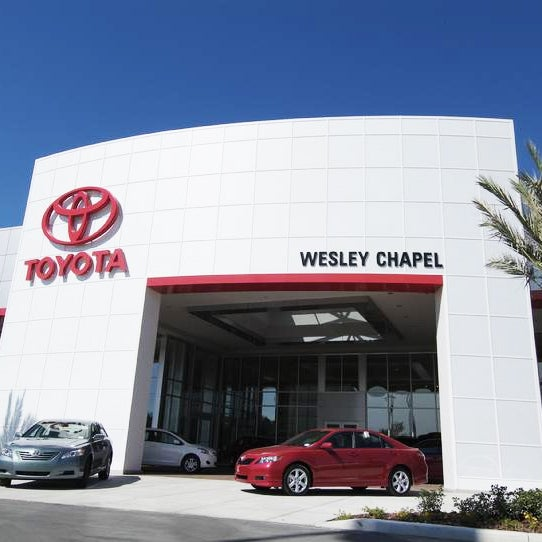 Photo Taken At Wesley Chapel Toyota By On 2 5 2017