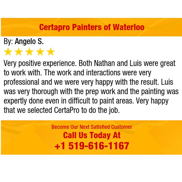 Photos at CertaPro Painters of Waterloo, ON - Art Studio