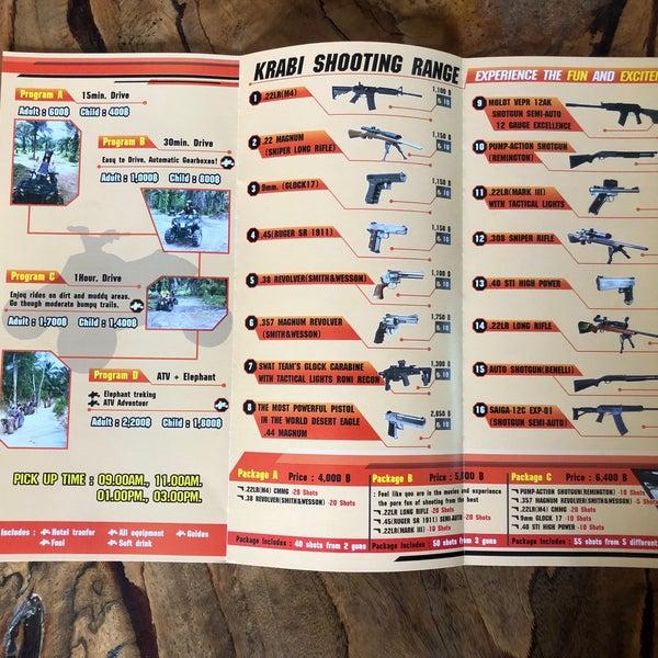 Photos at Krabi Shooting Range - 1 tip