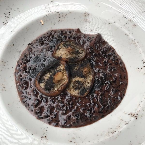 se recomienda: Risotto de hongos frescos de temporada!!