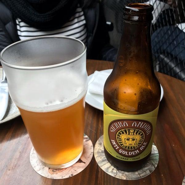 se recomienda: Cerveza Artesanal Sierra Andina - Inti Golden Ale!!!