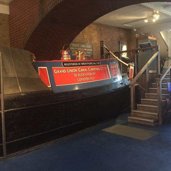 รูปภาพถ่ายที่ London Canal Museum โดย Ben S. เมื่อ 2/11/2016