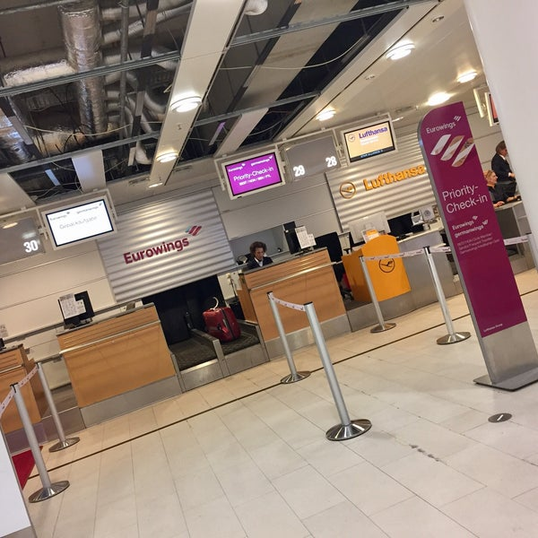 Photos At Germanwings Check In Now Closed Neuenland 7 Visitors